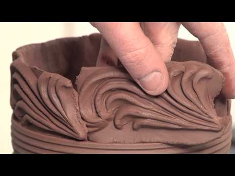 How to Make a Jar With Press-Molded  Decorative Strips and Wheel Thrown Parts | BLAIR CLEMO