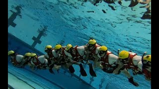 """USCG Helicopter Rescue Swimmer AST """"A"""" School class (133-19)"""