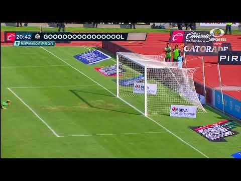 Gol de L. da Silva | Lobos BUAP 1 - 0 Pumas UNAM | LIGA Bancomer MX - Clausura 2019 - Jornada 9