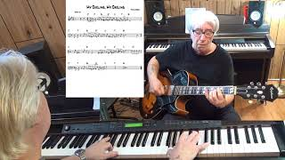 My Darling, My Darling - Jazz guitar & piano cover ( Frank Loesser )