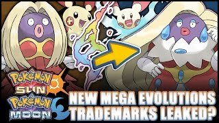Pokémon Sun And Moon   New Mega Evolutions Leaked? Old Trademarks Show Potential New Megas!