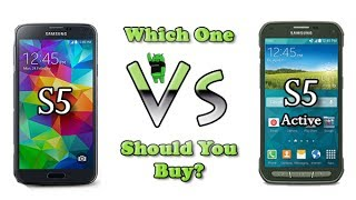 Galaxy S5 vs Galaxy S5 Active (Which One Should You Buy)