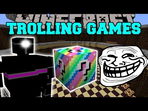 Minecraft: ROBOTS TROLLING GAMES – Lucky Block Mod – Modded Mini-Game