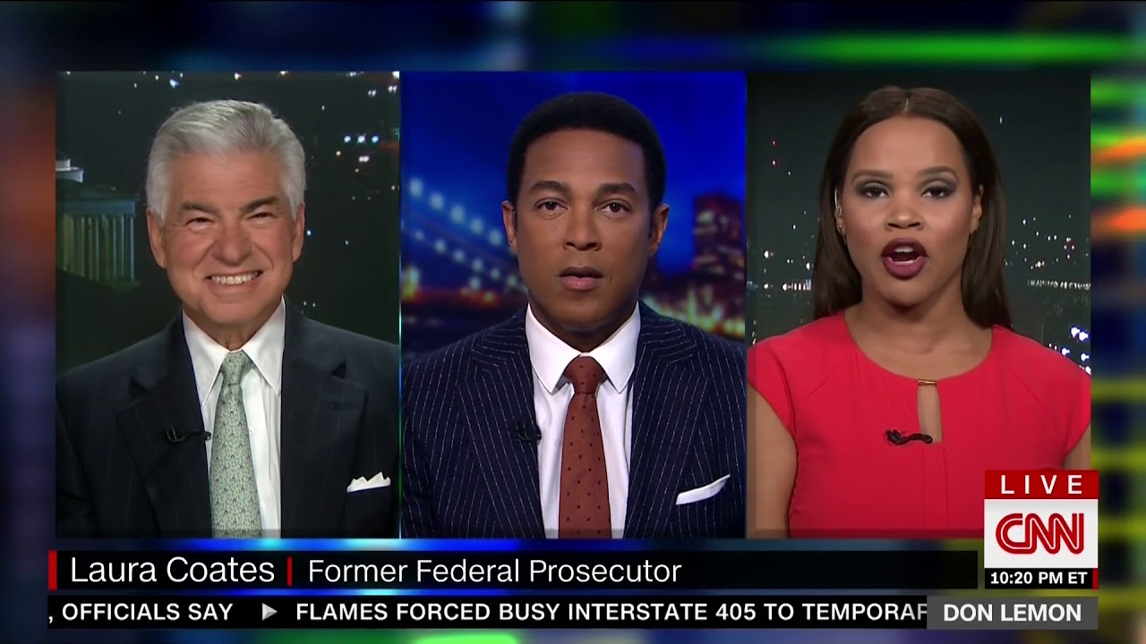 Laura Coates On Cnn Discussing Don Jr Citing Attorney Client