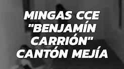 CCE realiza mingas en el cantón Mejía
