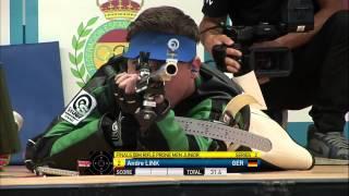 Finals 50m Rifle Prone Men Junior - ISSF World Championship in all events 2014, Granada (ESP)