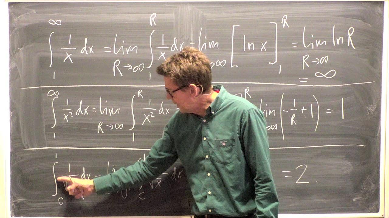16. Generaliserade integraler