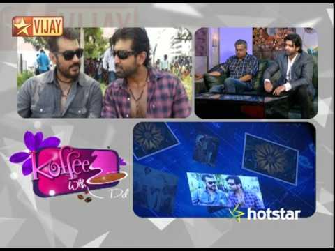 Koffee With DD - Gowtham Menon and Arun Vijay | 02/15/15