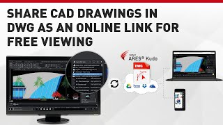Share CAD drawings in DWG as an Online Link for Free Viewing