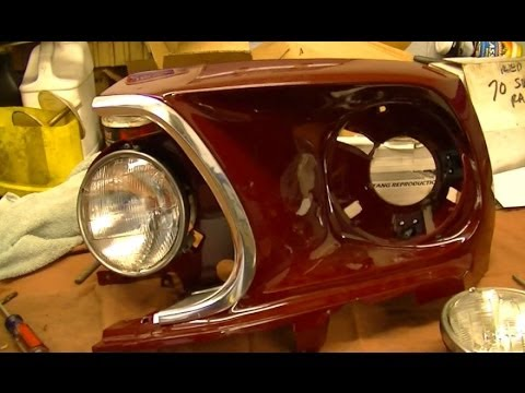 Wiring Diagram Ford 1990 Yamaha Moto 4 350 The Bucket List 1969 Mustang Restoration Part 62 Headlamp Assembly - Youtube