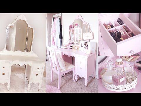DIY VANITY | Shabby Chic Vanity Makeover