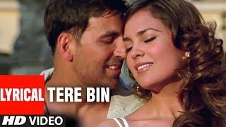 Tere Bin Lyrical Video Song | Bhagam Bhag | Akshay Kumar, Lara Dutta, Govinda