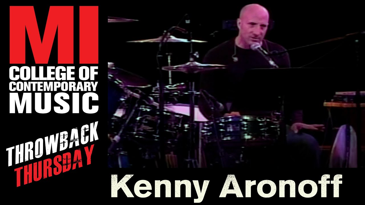 Kenny Aronoff Throwback Thursday From the MI Vault 5/18/06