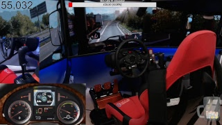Euro Truck Simulator 2 PC test stream