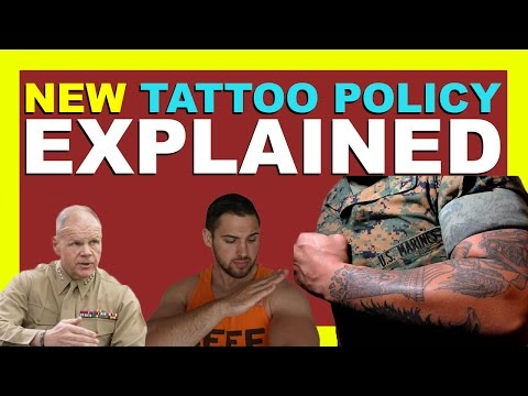 NEW USMC TATTOO POLICY *EXPLAINED* - 2016