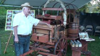 Man Builds Chuck Wagon Replica