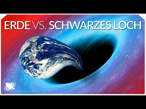 Schwarzes Loch gegen Erde | Was würde passieren? (2019)