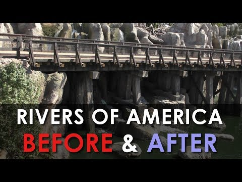 NEW Rivers of America 2017 - Before and After w/commentary