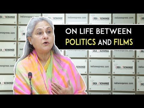 Idea Exchange: Jaya Bachchan Reveals How She Juggles Her Life Between Politics & Films