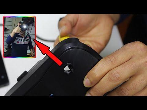 ثقبت النظارة كي أستخدم الكاميرا وكانت المفاجأه. - virtual reality Glasses Modification