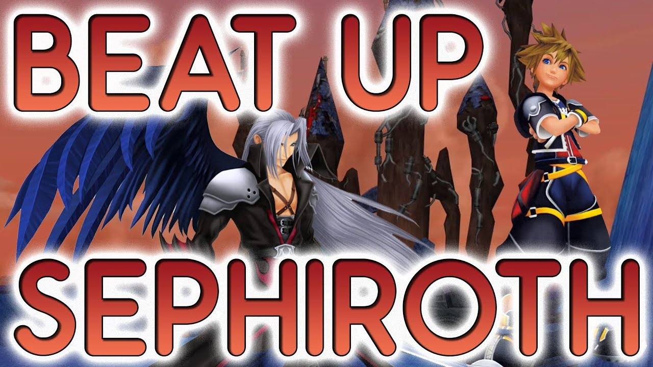 How To Beat Sephiroth Nice And Easy Kingdom Hearts 2 Kh2fm