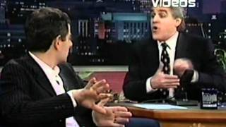 Rowan Atkinson on Jay Leno Promoting