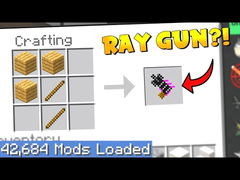 Largest Minecraft Modpack but EVERY crafting recipe is RANDOM 2