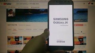 Hard reset Samsung J4 2018 Удаление пароля J400F Сброс настроек