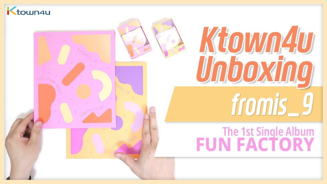 KIHNO KIT 프로미스나인FROMIS/_9 1ST SINGLE FUN FACTORY