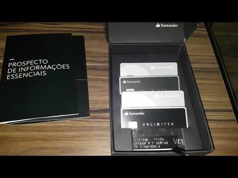 KIT BOAS VINDAS Santander Unlimited