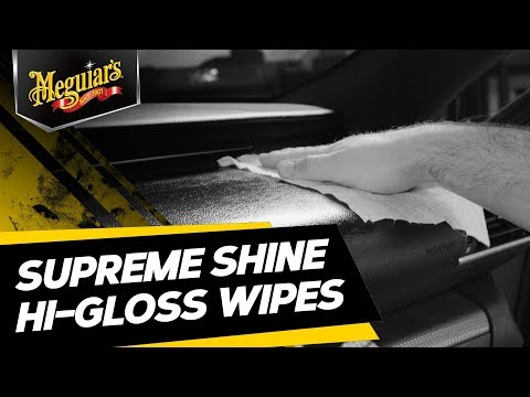 Does Your Dashboard Need Cleaning & UV Protection? - Interior Cleaner Wipes For High Shine