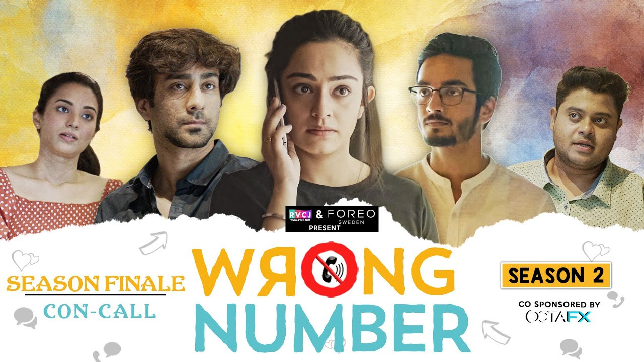 Wrong Number | S02E05 - Con-Call | Ft. Apoorva, Ambrish, Badri, Anjali & Parikshit | RVCJ Originals