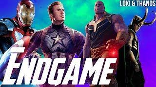 Iron Man Thanosbuster & Captain America Scepter + Loki Joins Thanos Army? - Avengers Endgame