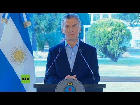 Macri aumentará los salarios tras su derrota electoral en las primarias