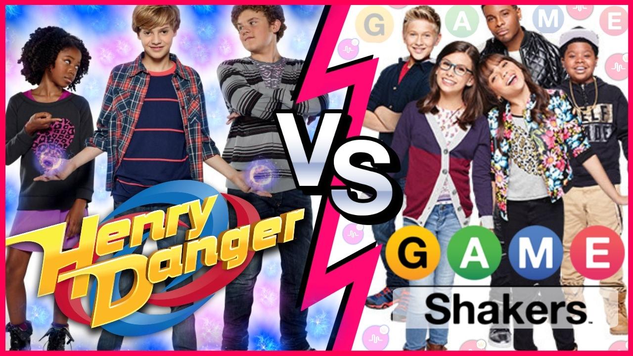 Henry Danger VS Game Shakers Musical.ly Battle