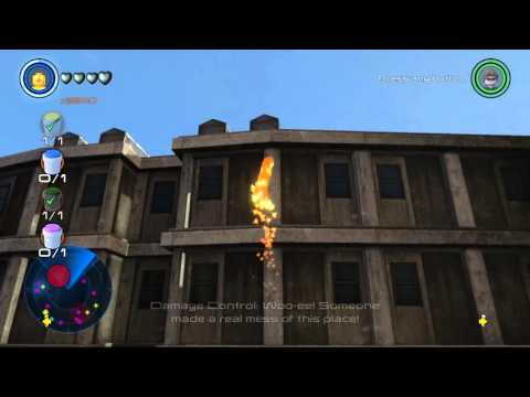 LEGO Marvel's Avengers Sokovia All Collectibles Free Roam Gameplay