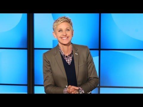 Ellen's in a Greek Soap Opera?