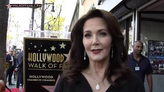 Lynda Carter Honored with Hollywood Walk of Fame Star - walkoffame on YouTube