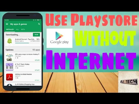 Use Playstore Offline
