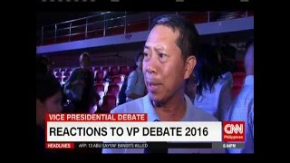 reactions to vp debate 2016