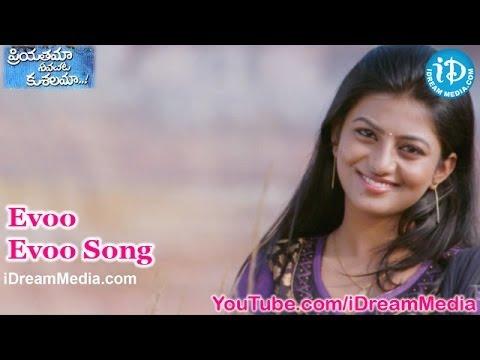 Evoo Evoo Song - Priyathama Neevachata Kushalama Movie Songs - Varun Sandesh - Rakshita