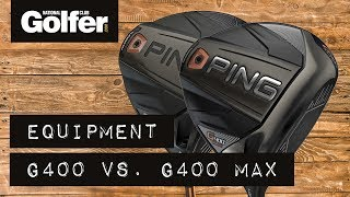 Ping G400 SFT vs Ping G400 Max Drivers Head to Head