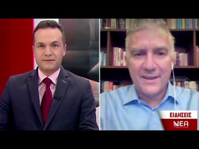 Ο Μ.Βολουδάκης στο κεντρικό δελτίο ειδήσεων της ΝΕΑΣ Τηλεόρασης Κρήτης (2-12-2020)