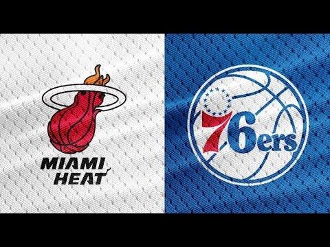 Miami Heat vs Philadelphia 76ers 2018 first round playoffs ...