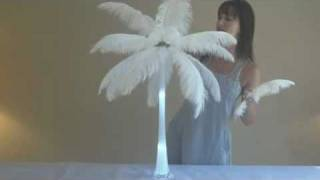 How to Make Ostrich Feather Centerpieces (Easy Setup)