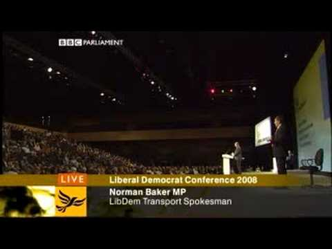 Norman Baker's 21st Century Transport Speech