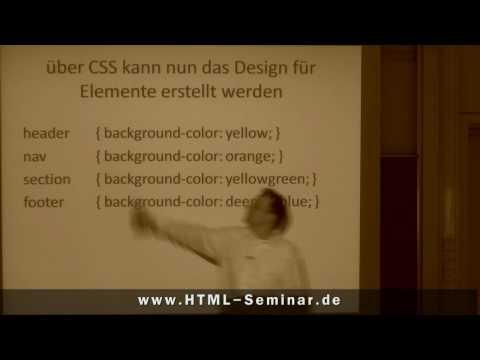 HTML5 Einführung