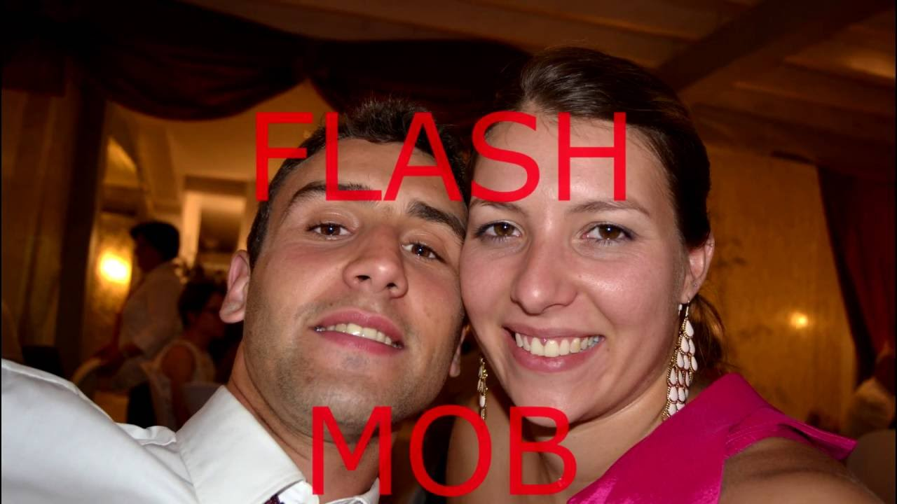 flash mob surprise pour le mariage de mathieu et elodie youtube. Black Bedroom Furniture Sets. Home Design Ideas
