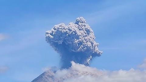 Gunung Agung Eruption - 31. May 2019