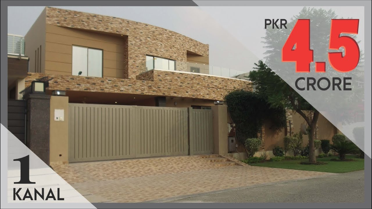 DHA LAHORE: 1 KANAL BUNGALOW FOR SALE IN 4.5 CRORE